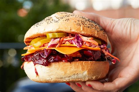 Ultimate Backyard Burger Can Cabbage Sandwiches Recipe Epicurious
