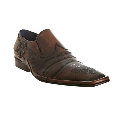 nason loafers nason brown burnished leather davis loafers in