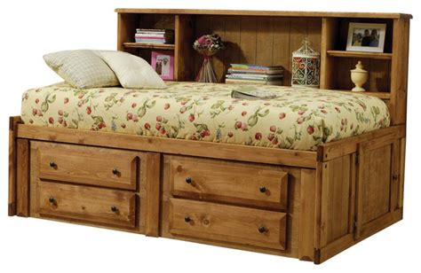 twin storage bed with bookcase headboard amber solid wood twin bookcase headboard bed w under bed