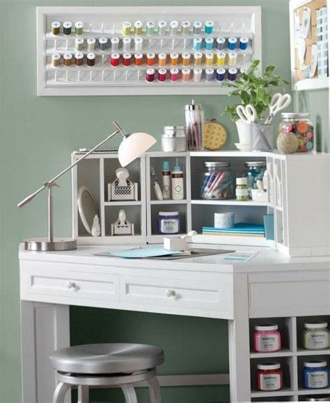 Small Craft Desk Craft Table For Small Spaces Home Sweet Home Pinterest
