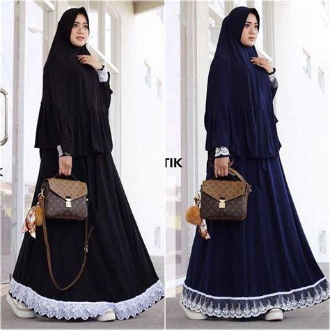 Lv Syari Fit To L jual baju muslim lv syari grosir baju muslim pakaian