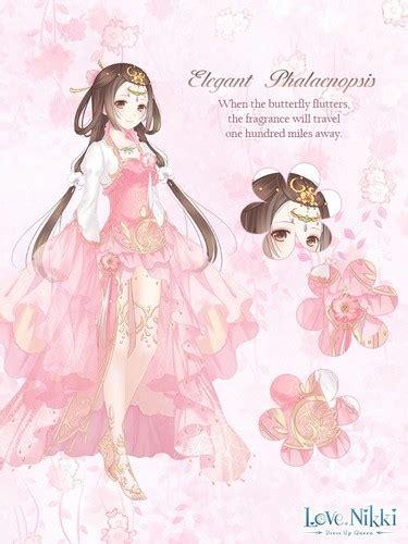elegant phalaenopsis pink love nikki dress  queen