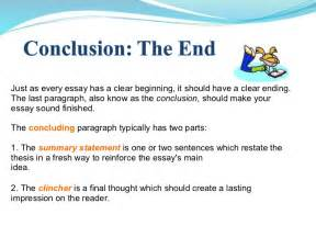 Conclusion For Essay by Writing A Strong Conclusion
