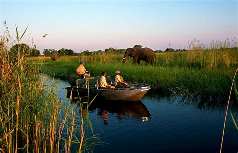 boat cruise maun botswana safari 5 day okavango delta excursion