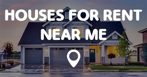 houses for rent around me houses for rent near me points near me