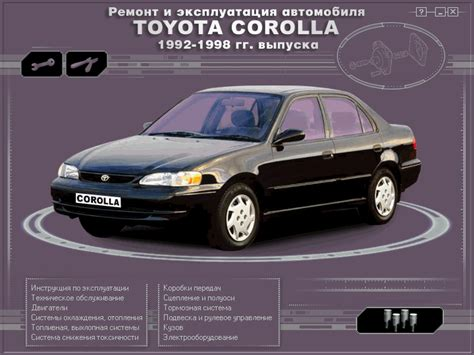 old cars and repair manuals free 1992 toyota 4runner windshield wipe control toyota manual corolla 1992 1998