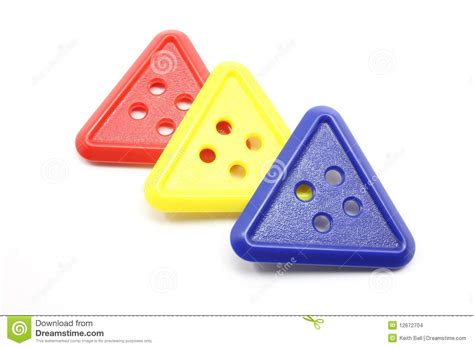 Three Buttons three triangle buttons stock images image 12672704
