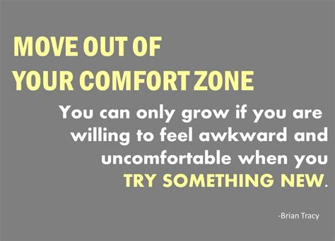 manufacture your day by moving out of your comfort zone