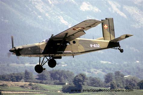 Swiss Army S 3189 the aviation photo company switzerland swiss air pilatus pc 6 porter v 632 1989