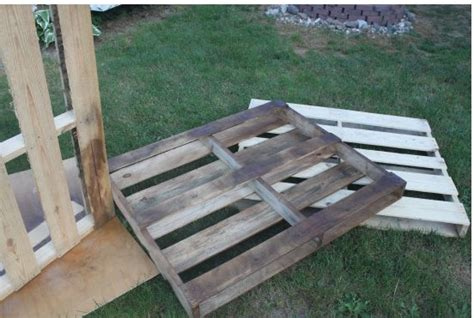 great ideas painted projects 1 pallet furniture diy outdoor dining table from wood pallets hometalk