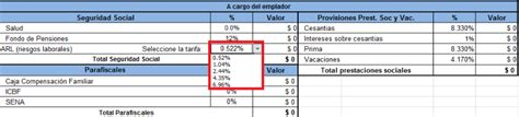 ejemplo pago servicio domestico colombia 2016 c 243 mo hacer una n 243 mina en excel y aspectos a tener en cuenta
