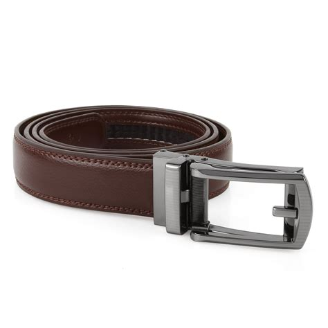 comfort click new comfort click belt leather automatic lock buckle for