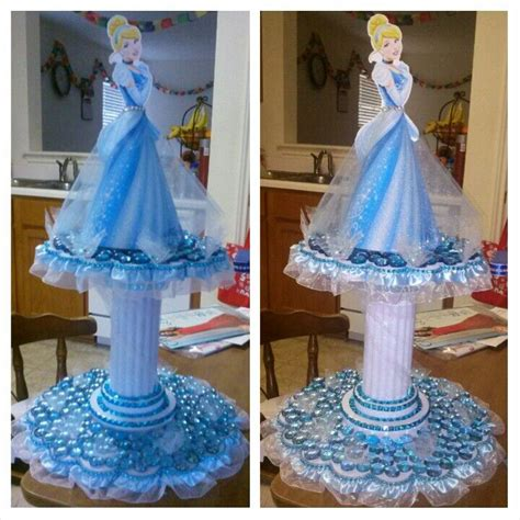 cinderella centerpiece natty s party ideas pinterest