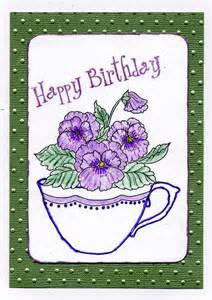 phyllis s card creations friends birthday card