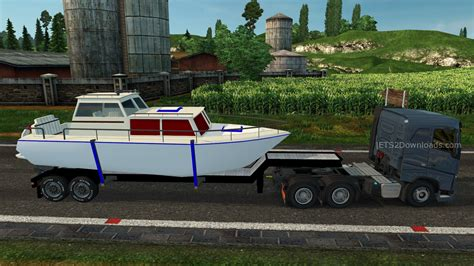 truck and boat trailer games boat trailer ets2 world