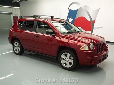 2007 Jeep Compass Roof Rack purchase used 2007 jeep compass sport auto roof rack alloy wheels 65k direct auto in