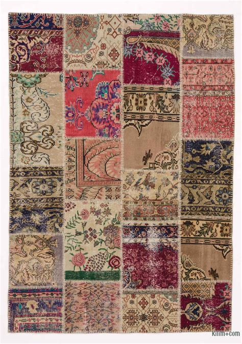 patchwork carpet sale items kilim rugs overdyed vintage rugs made