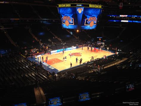 Nys Section 2 Basketball by Square Garden Section 221 New York Knicks