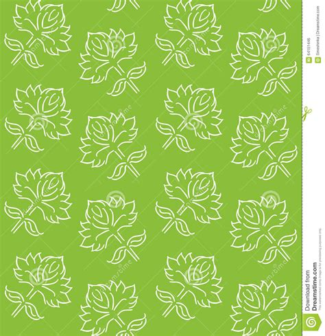 flowers seamless pattern element vector background spring green abstract floral pattern seamless background