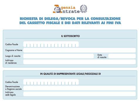 agenzia delle entrate delega cassetto fiscale guida al cassetto fiscale dell agenzia delle entrate
