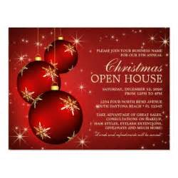 open house invitation template postcard zazzle