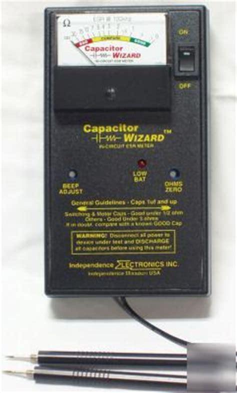new cap1b capacitor wizard esr meter 100khz tester