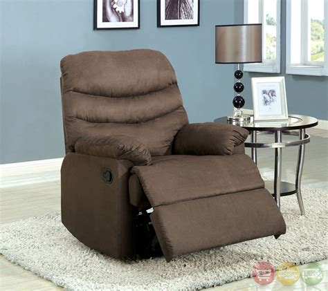 plush recliner chair pleasant valley coffee brown recliner chair with plush