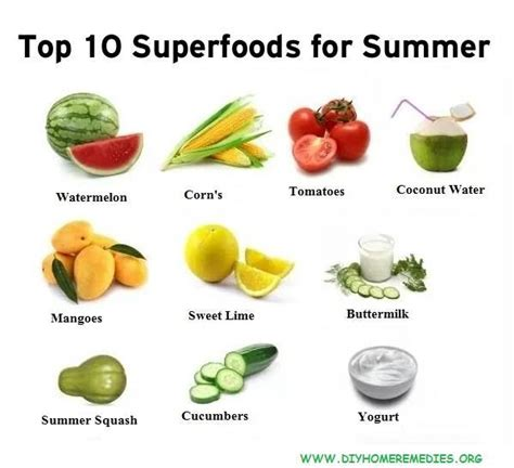 top ten superfoods guide book books top 10 superfoods for summer season diy home remedies