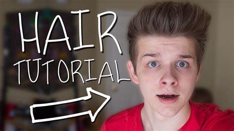hairstyle tutorials boys tumblr boy hair tutorial youtube