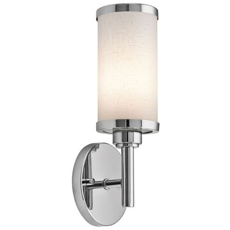 Kichler Wall Sconce Kichler 10680ch Chrome Ada 1 Light Fluorescent Wall Sconce Lightingdirect