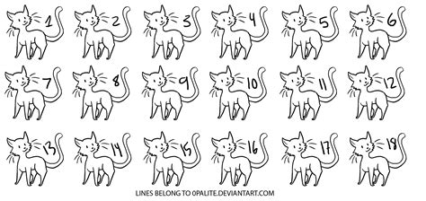 cat adoptables line art warrior cat adoptables base cute cats