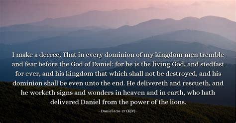 daniel   kjv todays verse  sunday june