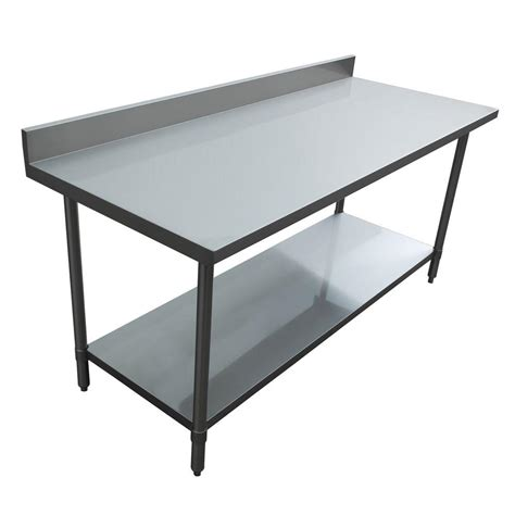 Kitchen Utility Table by Excalibur Stainless Steel Kitchen Utility Table With