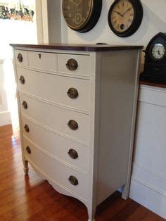 Furniture Revere Ma by Provincial Highboy Chest Painted In Revere Pewter With Wood Top And High Gloss