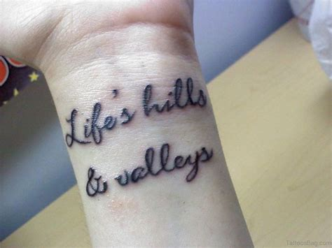 famous wrist tattoos 71 quotes tattoos for wrist