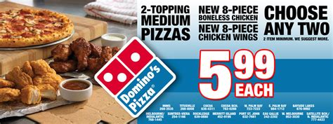 domino's carryout deals