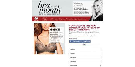 Wacoal Bra Giveaway - wacoal 30 years of beauty giveaway 30yearsofbeautygiveaway com 30 bras each week