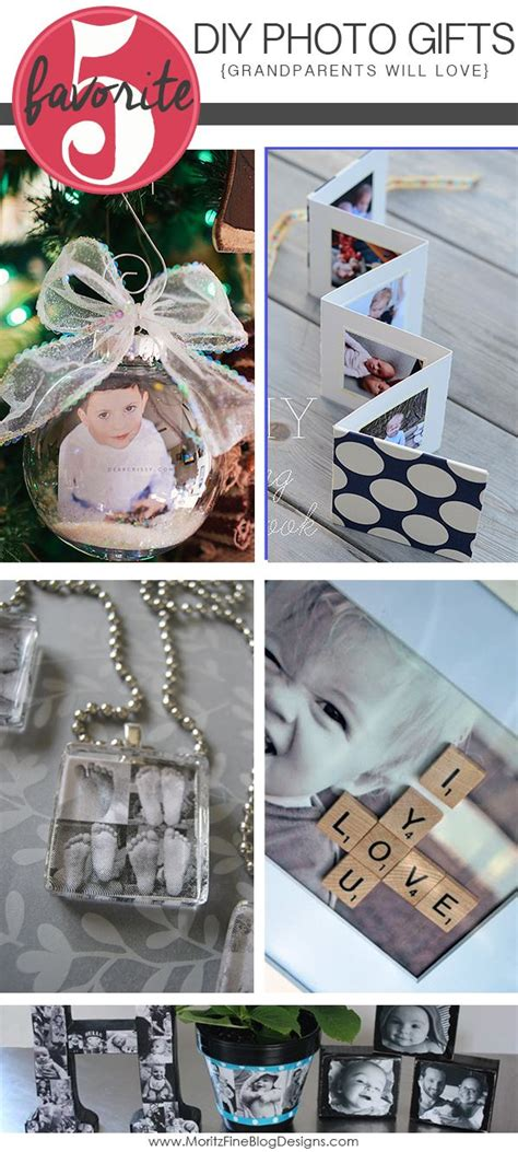 diy photo gift ideas for grandparents grandparents dads