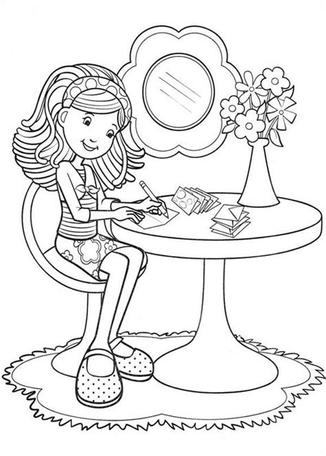 girl writing coloring page groovy girls dancing together coloring pages batch coloring