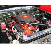 1971 Dart Swinger 340 Engine