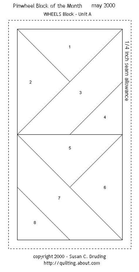 Foundation Patchwork Patterns Free - 10 images about paper pieced quilt block patterns on