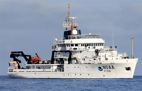 big boat song newest noaa fisheries survey ship begins west coast and