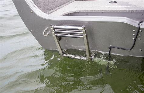 crestliner 1850 pro tiller 18 ft aluminum tiller boats - Aluminum Fishing Boat Ladder