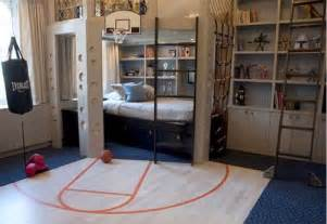 kids sports bedroom playful and masculine children bedroom design suggestions
