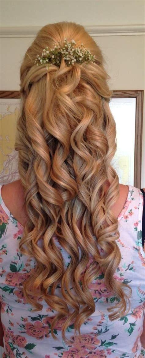 wedding hair with gypsophila bridesmaid hair with gypsophila my wedding
