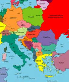 Map Of East Europe by Central And Eastern Europe Map Europe Pinterest