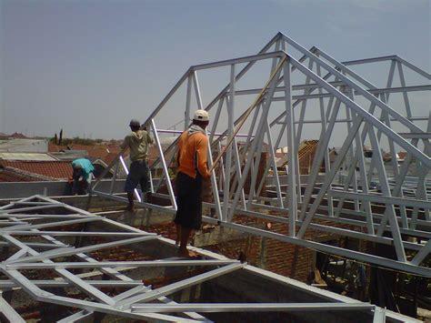Rangka Baja rangka atap baja ringan galvalum toko galvalum atap