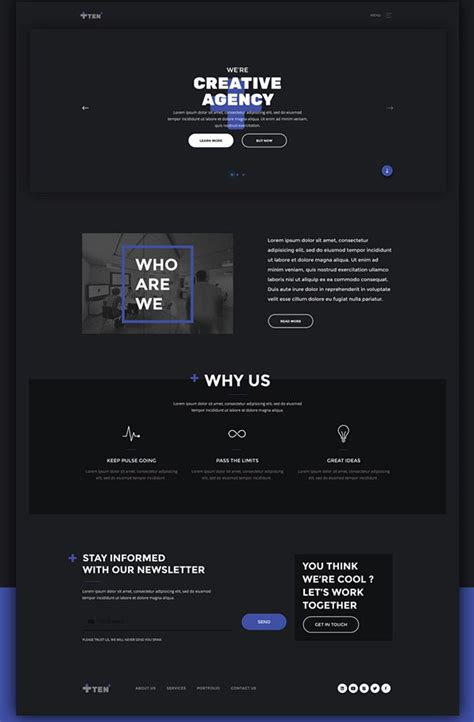 free html template 80 free html5 website templates