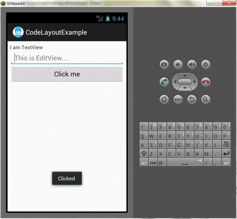 layout in android programming code layout exle in android programming edumobile org