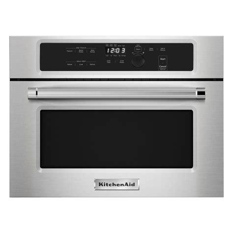 kitchenaid kmbsess  cu ft built  microwave